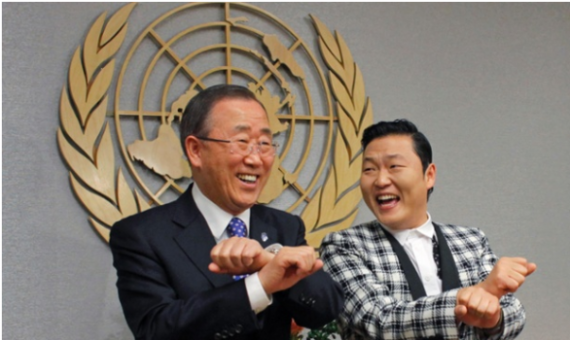 ban-ki-moon-psy-teach-english-koreas