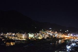 下呂市夜景