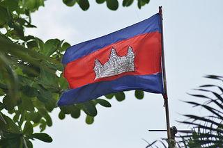 カンボジア Flag