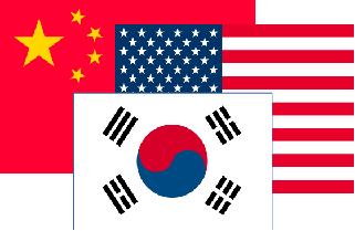 韓国 米国 中国