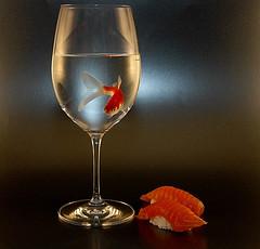 金魚 寿司 イメージ