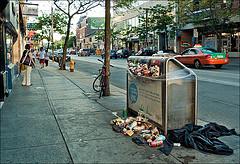 ゴミ イメージ 街