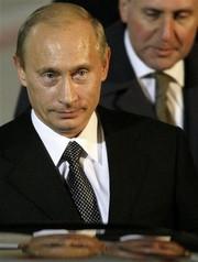 プーチン ロシア