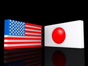 日本 米国 Flag