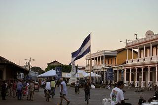 ニカラグア Flag