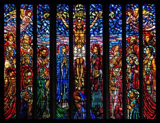 教会 キリスト ステンドグラス