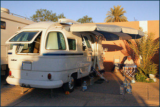 キャンピングカー キャンプ