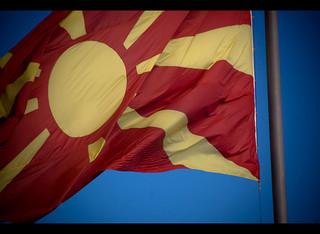 マケドニア flag