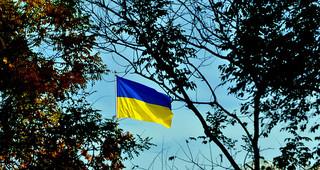 ウクライナ Flag