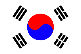 韓国 国旗